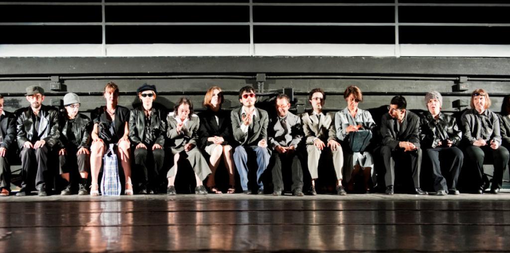 Gli spazi del teatro - Comunità Progetto con ATIR